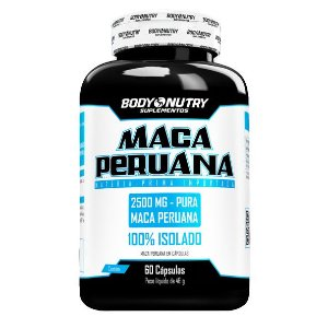 Maca Peruana Body Nutry 60 cápsulas