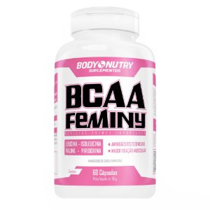 BCAA Feminy Body Nutry 60 cápsulas