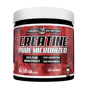 Creatine Pure Micronized Furious  Nutririon 300 g