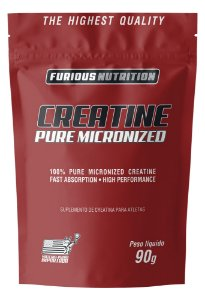 Creatine Pure Micronized Furious Nutrition refil 90 g