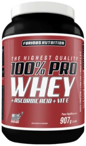 100% Pro Whey furious 907 g