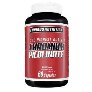 Chromium Picolinate furious Nutrition 60 cápsulas