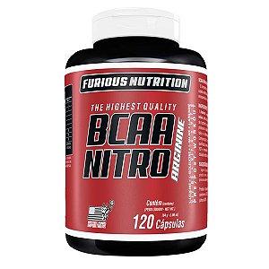 BCAA Nitro Arginine Furious Nutrition 120 cápsulas