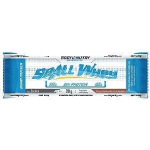 Barras de proteínas Spall Whey Body Nutry unidade 30 g