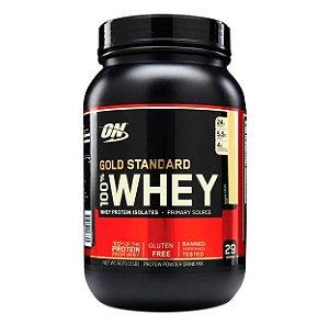 100%  Whey Gold Standard Optimum Nutrition 909 g