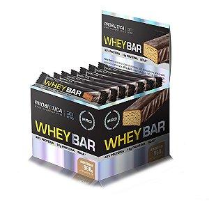 Whey Bar Probiótica 24 unidades 40 g