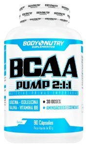 BCAA Pump Clinical  2:1:1 90 cápsulas