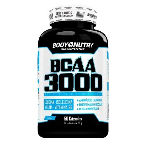 BCAA 3000 Body Nutry 50 cápsulas
