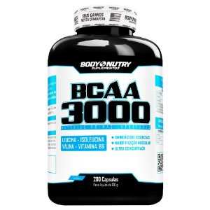 BCAA 3000 Body Nutry 200 cápsulas