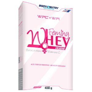 Whey Feminy Body Nutry 450 g (Baunilha)