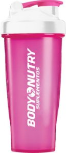 Coqueteleira Body Nutry 600 ml - Rosa