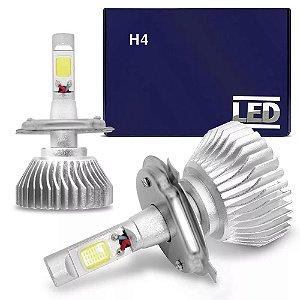 Kit Lâmpada Super LED Headlight H4 6000K Xênon