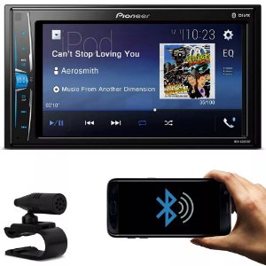 Central Multimídia Pioneer MVH-A208VBT  Tela 6.2 Touch Bluetooth
