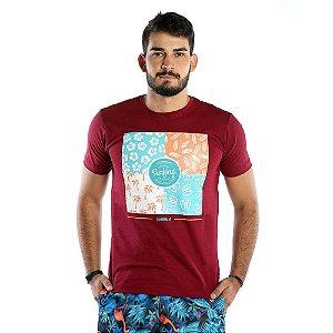 Camiseta Masculina Estampada Vintage Surf
