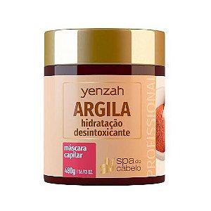 Mascara Yenzah Argila Hidratação Desintoxicante 480g