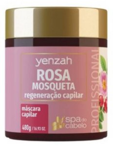 Mascara Yenzah Rosa Mosqueta 480g