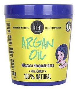 Mascara Reconstrutora Lola Argan Oil Pracaxi 230g 100% natural