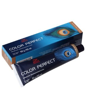 Tintura Color Perfect Wella 6/0 Louro Escuro