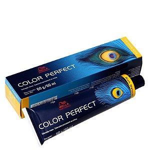 Tintura Color Perfect Wella 6/1 Louro Escuro Acinzentado