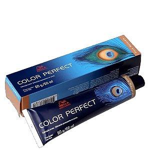 Tintura Color Perfect Wella 7/73 Louro Médio Marrom Dourado