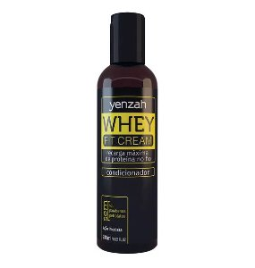 Condicionador Yenzah Whey Fit Cream 240ml