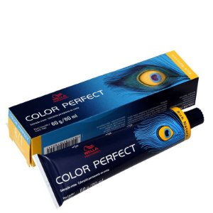 Tintura Color Perfect Wella 8/1 Louro Claro Acinzentado