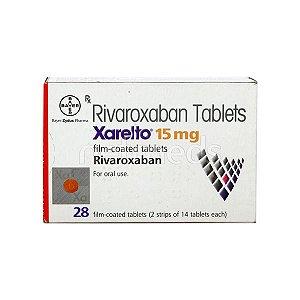 Xarelto 15 mg 28 cp