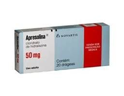 Apresolina 50 mg  20 drágeas