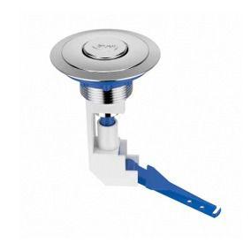 Botão de Acionamento Caixa Acoplada Universal ABS Cromado