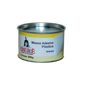 MASSA PLASTICA BRANCA 400GR