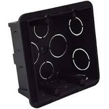 Caixa  4x4 Preta PVC