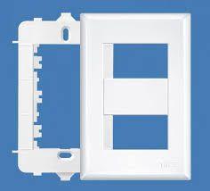 Placa 4X2 Com Sup 02 Modulos Dist EV