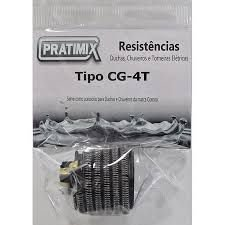Resistência Gorducha CGT4T-Corona Hydra Pratimix