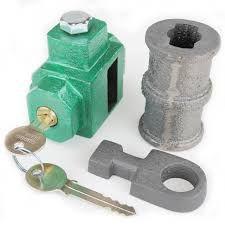 Cadeado Porta Aço Chave Simples 101