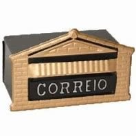 Caixa Correio Colonial Popular 15X23X11 p/ Muro