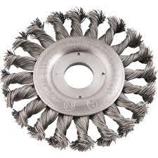 Escova Circular Entrançado Aço Carbono 6X1/2