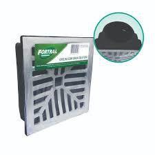 Grelha c/ Caixa Coletora s/ Fun 20X20 Fortral