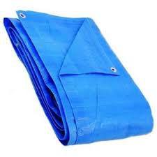 Lona Encerado Polietileno 100 Micras 4M X 4M Azul  Kala