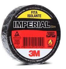 Fita Isolante 3M 18mm x 5m  Imperial  Caixa 100 unidades