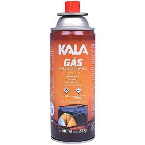 CARTUCHO GAS 227G - KALA ,ONU 2037,GAS EM PEQUENOS RECIPIENTES  CARTUCHOS DE GAS ; nao-recarregaveis