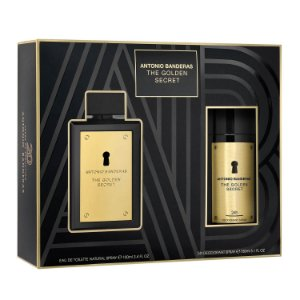 The Golden Secret Antonio Banderas Kit - Perfume EDT + Desodorante
