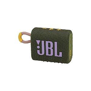 Caixa De Som JBL BT Go3 VERDE