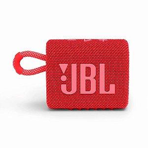 Caixa De Som JBL BT Go3 RED