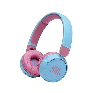 Fone de ouvido on ear JBLJR310BTBLUE