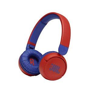 Fone de ouvido on ear JBLJR310BTRED