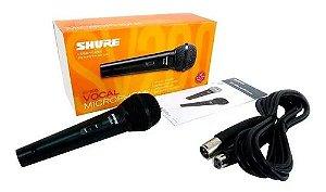 Microfone Shure vocalL c/fio SV200