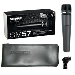 MICROFONE SHURE P INTRUMENTOS SM57-LC