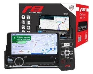 Auto Radio R8 1020bt Suporte Celular 2 Ent. Usb Sd Bluetooth