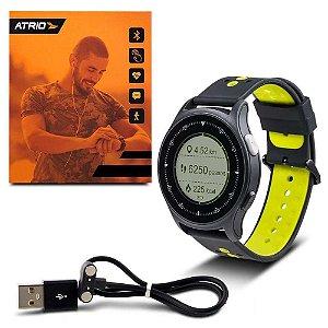 Monitor Cardíaco Sportwatch Chronus Átrio Gps Relogio Es252
