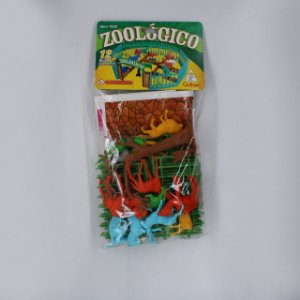 ZOOLOGICO COM FIGURAS COLORIDAS